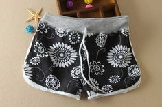 Summer season Hot Sales Women Shorts Print Fashion Casual Short One Size Women's Shorts Cotton Shorts H141
