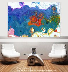 Christian Art | Isaiah 40:28. Have You Not Heard? | Modern Abstract Painting