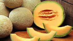Cantaloupe or musk melon is a fruit that is not only refreshing and tasty but very healthy as well. Learn about the many nutritional and health benefits cantaloupe consumption offers. Cantaloupe And Melon, Cantaloupe Calories, Growing Cantaloupe, Cantaloupe Smoothie, Smoothies, Growing Melons, Health Tips, Meals, Breakfast