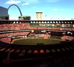 The old Busch Stadium.  Anything better than watching Ozzie do a backflip?