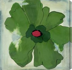 Modern Flower IV by Laura Gunn