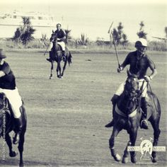 #Sotogrande in black and white. Today we look back to the first years of Santa María Polo Club, whose initial #polo field was built in 1965. This is the origin. http://sotogrande.com/en/sotogrande/sport/polo #Spain #luxury