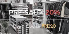 http://ift.tt/2idhPuJ  PRE-SALDI meno 20% con il codice PRE20  Pre-Sale #20Off with PRE20 code