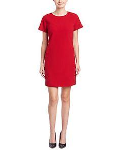 Lafayette 148 New York Petite McKayla Wool Shift Dress