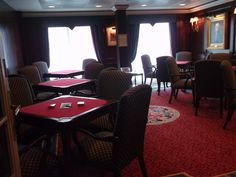 Oceania Cruises - Nautica, The Card Room