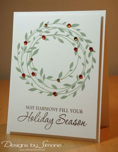 love the simple yet stunning look of this holiday card