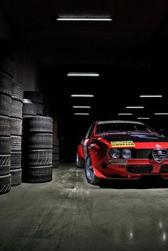 Stunningly atmospheric Alfa Romeo