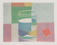 Veikko Vionoja, Työhuoneen ikkuna 1988, grafiikka