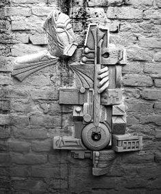Bas Relief, Kemança, Sculptor Ercan Yaren, Türkiye