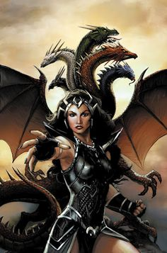 Dragonlance. Takhisis, Queen of Darkness