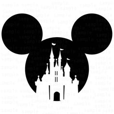 Photosilhouette Of Mickey Mouse Boy And Girl Kissing Illustration For Valentine S Day On White Background Arte Do Mickey Mouse, Mickey Mouse Clipart, Mickey Mouse Tattoos, Mickey Mouse Stencil, Mickey Mouse T Shirt, Disney Diy, Disney Crafts, Disney Trips, Disney Castle Silhouette