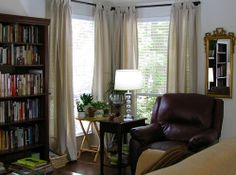 Leather Recliner, Leather Couches, Cozy Corner, Leather Furniture, Bachelor Pads, Recliners, Curtains, Things To Sell, Hate