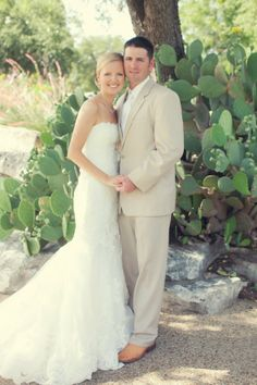 Rustic Southern Bride And Groom