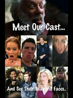 Meet our cast, for thr best cadt ever...