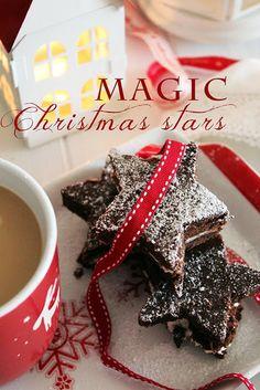 Miss Becky's Cottage: Magic Christmas Stars: chocolate and tonka bean mi...