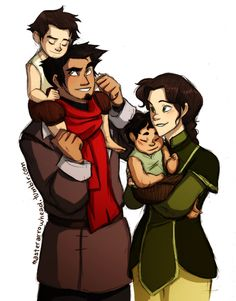 Mako and Bolin's parents.