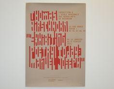 """""""Thomas Hirschhorn"""" http://on.be.net/1dGgKkq  L'affiche ci-contre a été conçue à l'occasion de la venue de Thomas Hirschhorn à l'Institut Supérieur des Beaux-Arts de Besançon. Il y a présenté son exposition : """"Exhibiting Poetry Today : Manuel Joseph"""", à l'occasion de laquelle il a recouvert le grand hall avec des matériaux pauvres tels que scotchs et cartons. Le motif de cette affiche a donc été généré avec du scotch, puis passé en sérigraphie."""