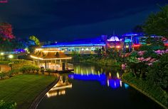 Walt Disney World - Magic Kingdom - Swan Boat Landing & Tomorrowland Terrace (via Tom Bricker (WDWFigment))