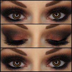 ABH Cosmetics : EYES: Soft Peach, Morocco, Fudge & Hot Chocolate #abhshadows ♥