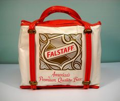Vintage Falstaff Beer Travel Cooler by Rustology on Etsy, 26.00