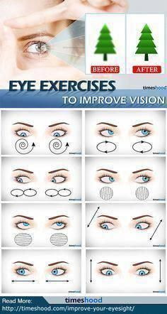 14 Tips On How To Improve Your Eyesight And Vision Naturally how to improve eye vision without glasses? Check out these 7 Eyes Exercises to Improve Eyesight Naturally. Natural Cures, Natural Health, Dry Eyes Causes, Eye Sight Improvement, Vision Eye, Eyes Problems, Cool Eyes, Massage Therapy, Workout Routines