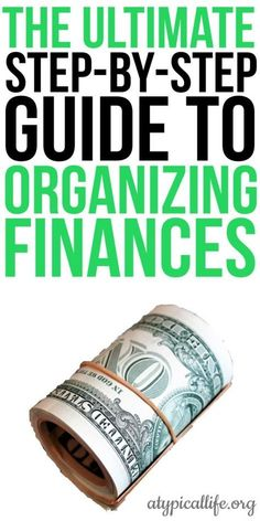 Before you can achieve financial freedom you need to make sure your finances are organized. This is the ultimate guide for how to organize your finances. budget | assets and liabilities | income and expenses | cash flow | credit report