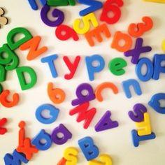 alphabet fridge magnets via @popckornBA