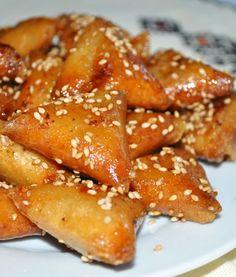 Briouates aux Amandes - Choumicha - Cuisine Marocaine Choumicha , Recettes…