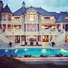 its more like a mansion dream pools pinterest big houses house and future house