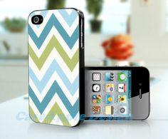Chevron - Apple iPhone 4 Case iPhone 4S Case iPhone Hard Case iPhone 4 Case Cover