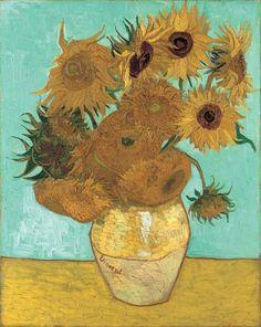 Van Gogh's Sunflowers - beautiful piece