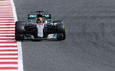 Descargar fondos de pantalla Lewis Hamilton, de 44 años, F1, Formula 1, Mercedes AMG equipo, raceway