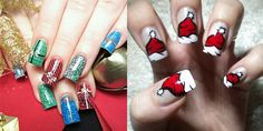 "Christmas Nail Art      Home  Archive for category ""Nail Art""    10 Best, Easy & Simple Christmas Tree Nail"