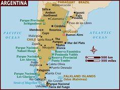 Argentina esta América del Sur. La capitol is Buenos Aires. Yo quiero ir a Argentina porque El clima es soleado, hay comida parece buena y la gente parecía amable.