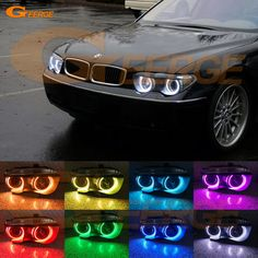 Find More Car Light Accessories Information about For BMW E65 E66 745i 745Li 760Li 760i 2002 2005 XENON HEADLIGHT Excellent Multi Color Ultra bright RGB LED Angel Eyes kit,High Quality kit kits,China kit led Suppliers, Cheap kit bmw from Geerge-Tech on Aliexpress.com