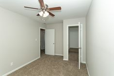 Each home is equipped with a washer and dryer, walk-in closets, an abundance of storage space, and updated interiors.