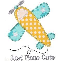 Airplane 2 Applique - Planet Applique Inc