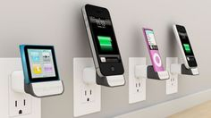 Bluelounge MiniDock iPhone/iPod wall charger doubles as a display-docking station