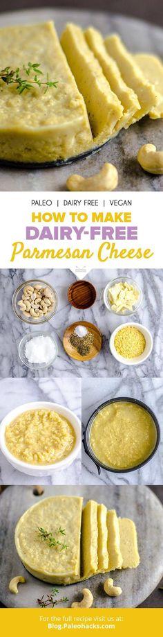 Dairy-free Parmesan