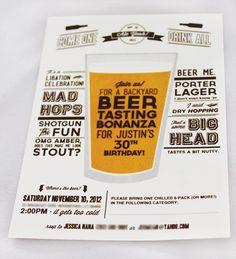 DIY | Beer Tasting Party