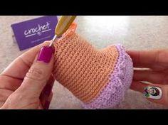Como tejer cuerpo muñeca Greta amigurumis By Petus SEGUNDA PARTE - YouTube