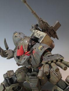 www.pointnet.com.hk - 造型有霸氣!! 改裝模型作品 MG 1/100 密林地帯仕様 愛爾蘭魔蟹