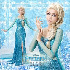 Frozen Elsa Costume Elsa Dress Anna Costume for girls adults kids - Stylehive