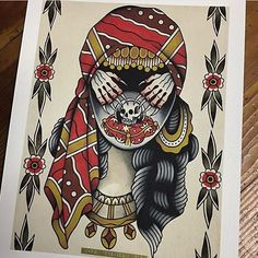 Flash by @jake_thorsell #trflash#traditional_flash#tattoo#tattooflash#traditional#traditionaltattoo#traditionalflash#tattooart#flash#art#illustration#drawing