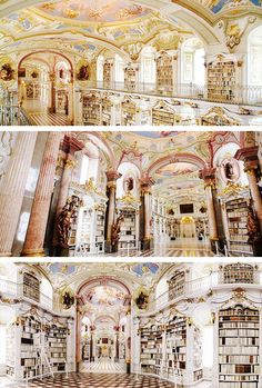 40 Most Impressive Libraries Around The World 1. Admont Abbey Library, Austria