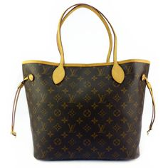 #LV Neverfull MM-Monogram Good Condition  Ref.code-(YETY-1) More Information Pls Email  (- luxuryvintagekl@ gmail.com)