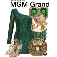 Inspired by the MGM Grand Hotel in Las Vegas Nevada.