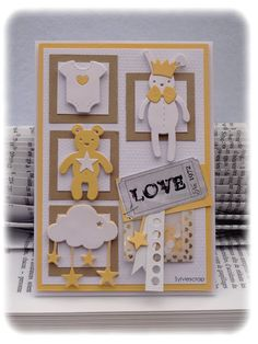 Cute for childrens - New Baby Cards, Baby Christening, Pocket Letters, Welcome Baby, Punch Art, Jukebox, New Baby Products, Stampin Up, Card Making