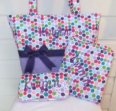 XL MultiColored Glitter Polka Dots Quilted Diaper by MsSewItAll32, $68.00