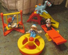 McDonalds 1989 Raggedy Ann and Andy Complete Set Loose Regional